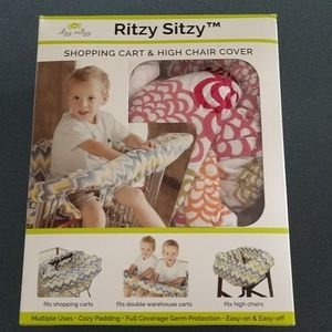 Ritzy Sitzy shopping cart and highchair cover